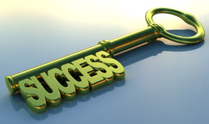 key to success in a blog