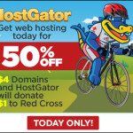 Hostgator American Red Cross Sale 2014: 50% Discount
