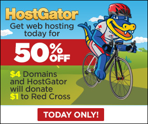 Hostgator Massive Discount 50 percent