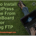 How to Install WordPress Genesis Theme From DashBoard or Using FTP