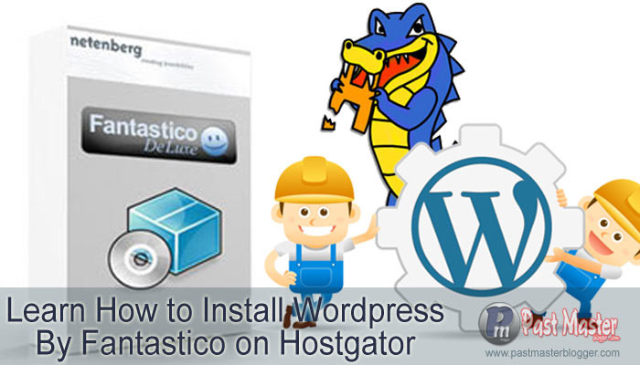 install wordpress on hostgator via Fantastico