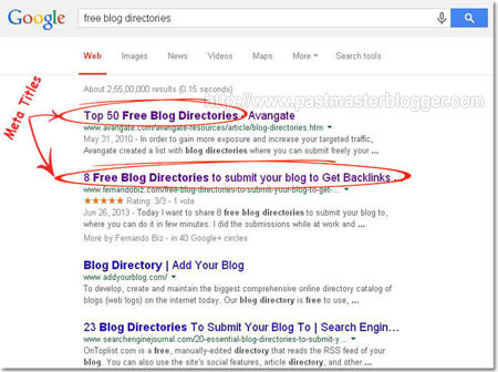 optimize your blog for search engine rankings