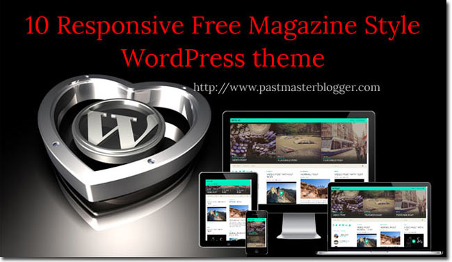 10 Free and Best Magazine Style Responsive WordPress themes