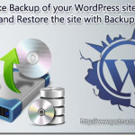 How to take backup of your WordPress blog manually and restore the blog with backup