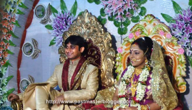 Mainak and Moumita Marriage Reception
