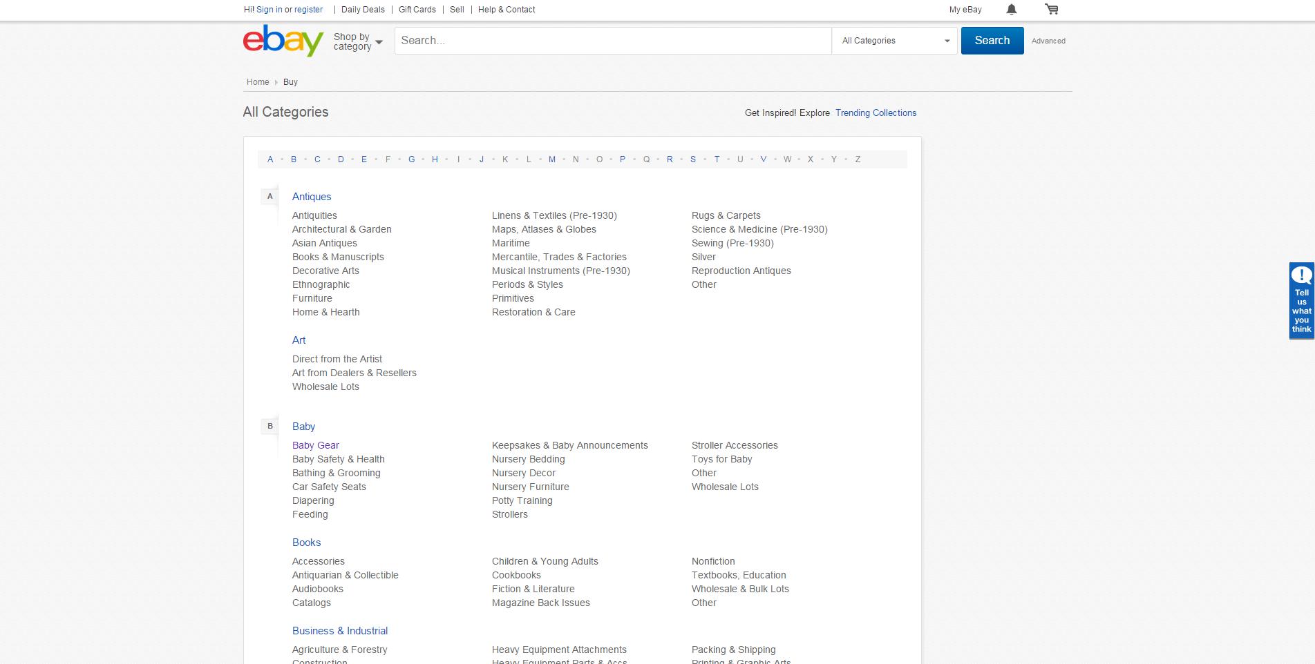 niche market analysis with ebay